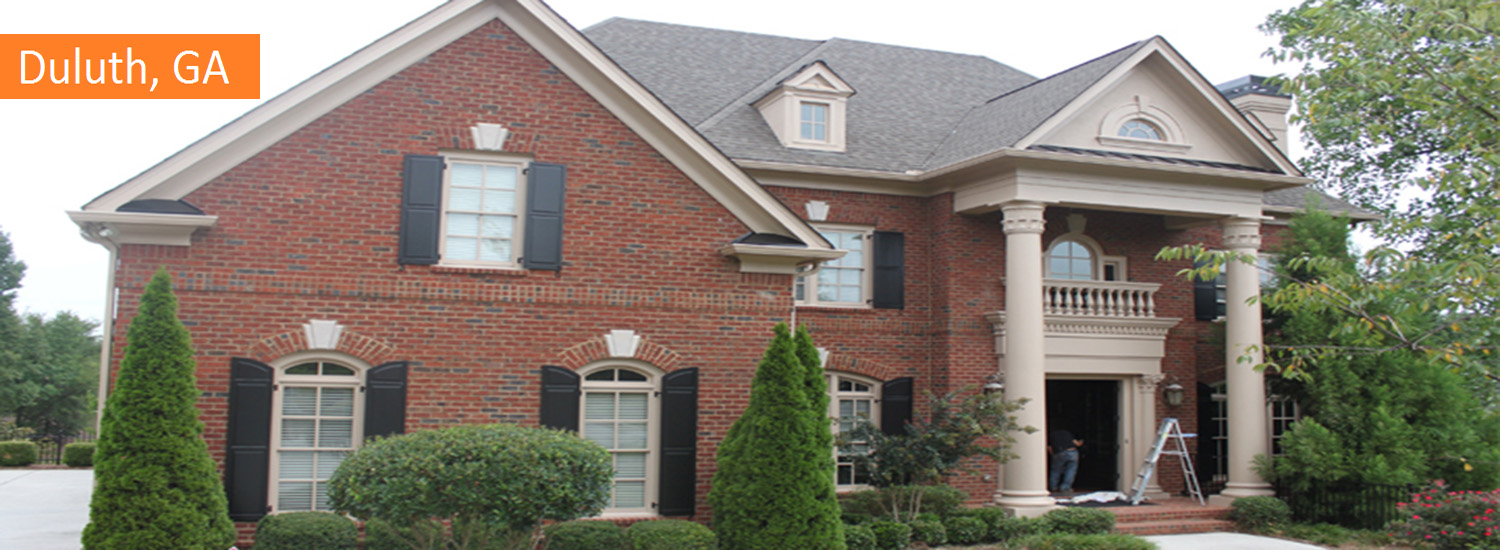 duluth exterior residential painting service