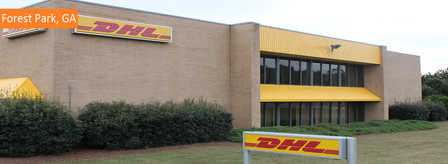 forest park DHL commercial exterior painting