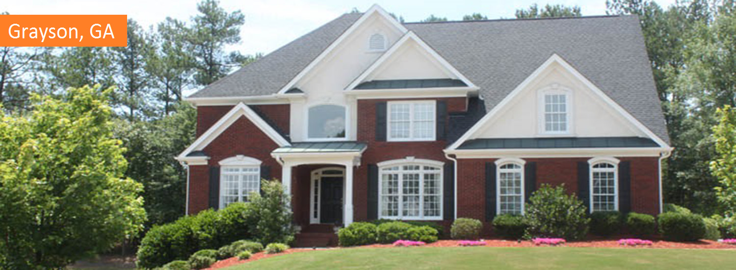 grayson exterior residential painting service