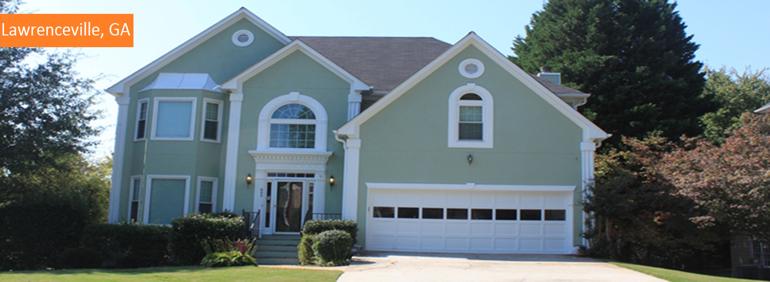 lawrenceville residential exterior painting service