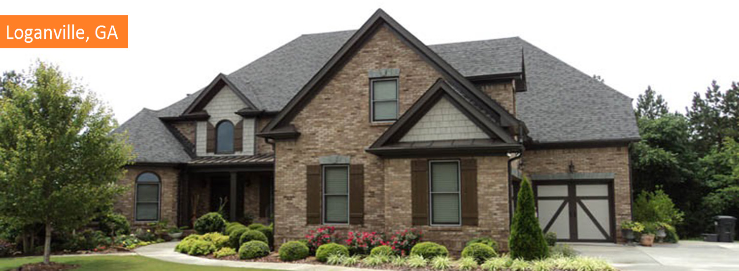loganville exterior residential painting service