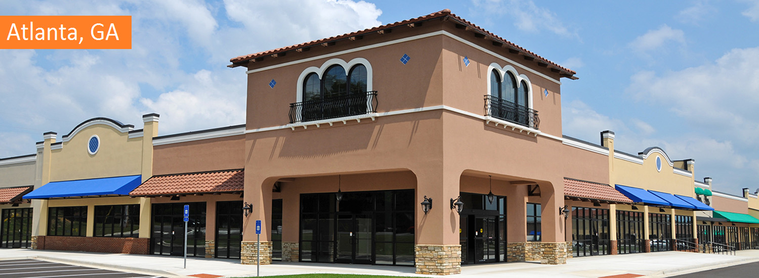 atlanta commercial exterior painting services