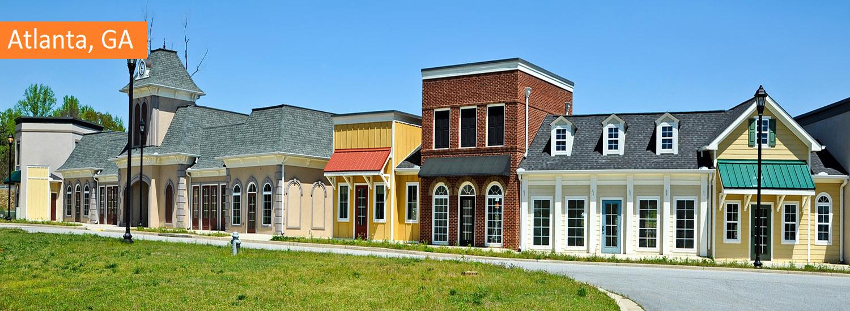 atlanta residential exterior painting service