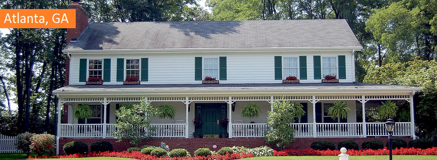 atlanta residential exterior painting services