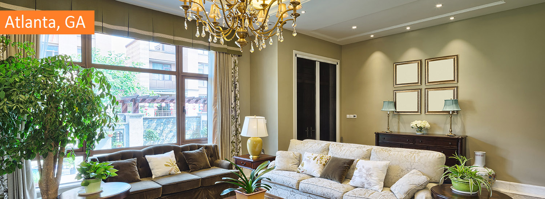 atlanta residential interior painting service