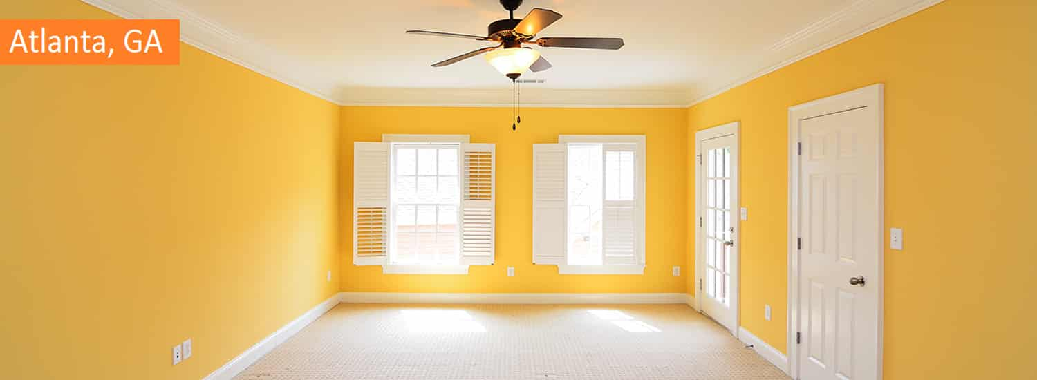 atlanta residential interior painting services