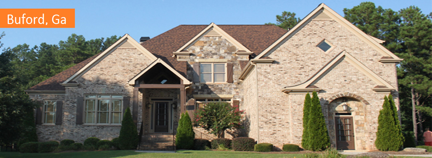 buford residential exterior painting service