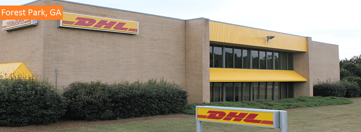 Forest Park GA DHL commercal painting